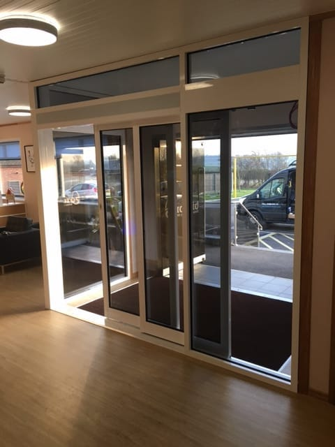 Automatic Telescopic Sliding Doors