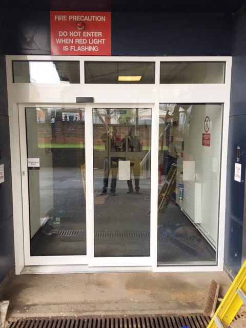 Automatic Doors for Care Homes