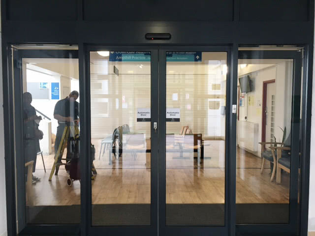 Automatic Doors for Adult Care