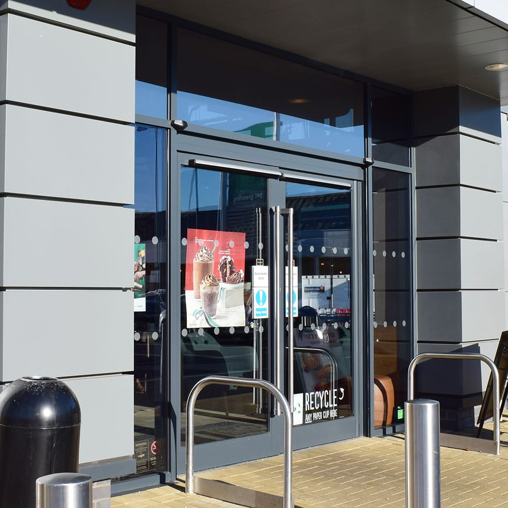 Automatic Doors for Retail